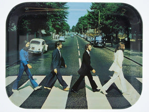 Disney Parks Beatles Abbey Road Plastic Serving Tray New