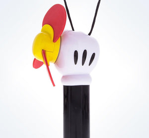 Disney Parks Mickey Mouse Hand Cooling Fan New With Tags