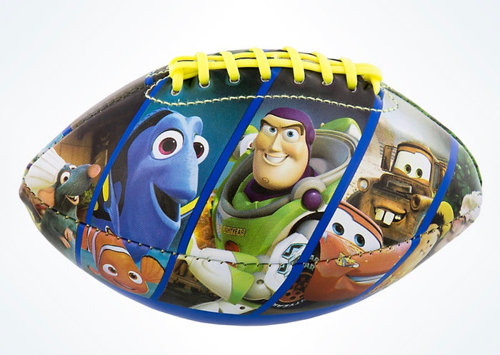 Disney Parks Pixar Characters Nemo Remy Wall-e Mini Football New