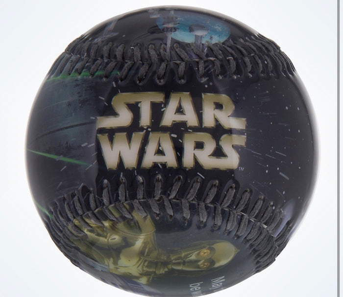 Disney Parks Star Wars May The Force Be With You Baseball Ball New