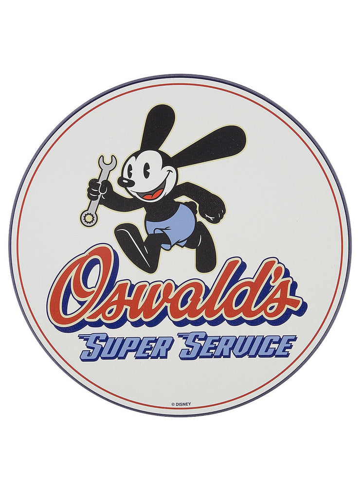 Disney Park Oswald's Super Service Sign New