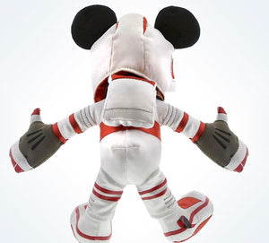 "Disney Parks Mickey Mouse 9"" Mission Space Astronaut Plush New With Tags"