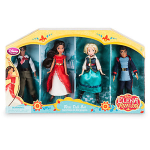 "Disney New Princess Elena Of Avalor 5"" Mni Doll Set New With Box"