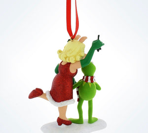 disney parks christmas the muppets miss piggy and kermit ornament new with tag