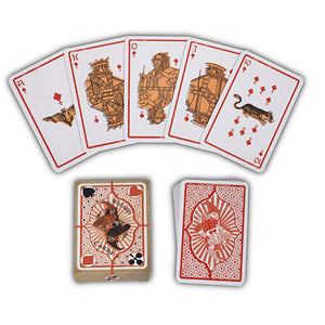 Universal Studios Wizarding World of Harry Potter Weasleys Playing Cards New Box