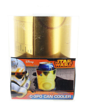 Star Wars C-3PO Metal Can Cooler New With Box