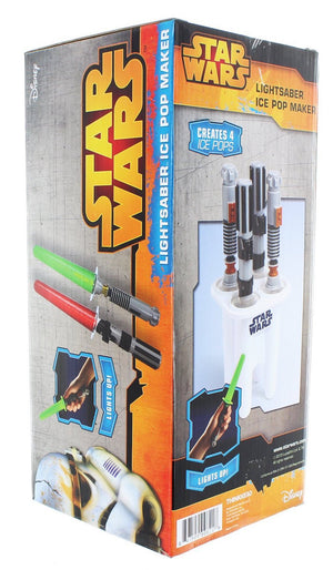 Star Wars Lights Up Lightsaber Ice Pop Maker New With Box