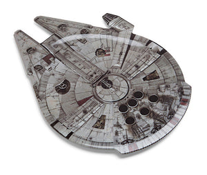 Star Wars Millennium Falcon Serving Platter New With Box