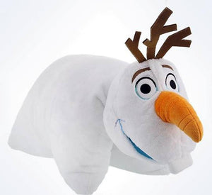 Disney Parks Frozen Olaf Reverse Pillow Pet Plush New With Tag
