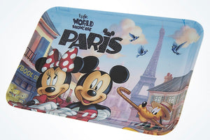 Disney Parks Epcot France Paris Mickey Minnie Pluto Mini Tray New