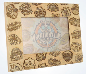 Disney Parks Mickey Vacation Club Member 4x6 Photo Picture Frame New