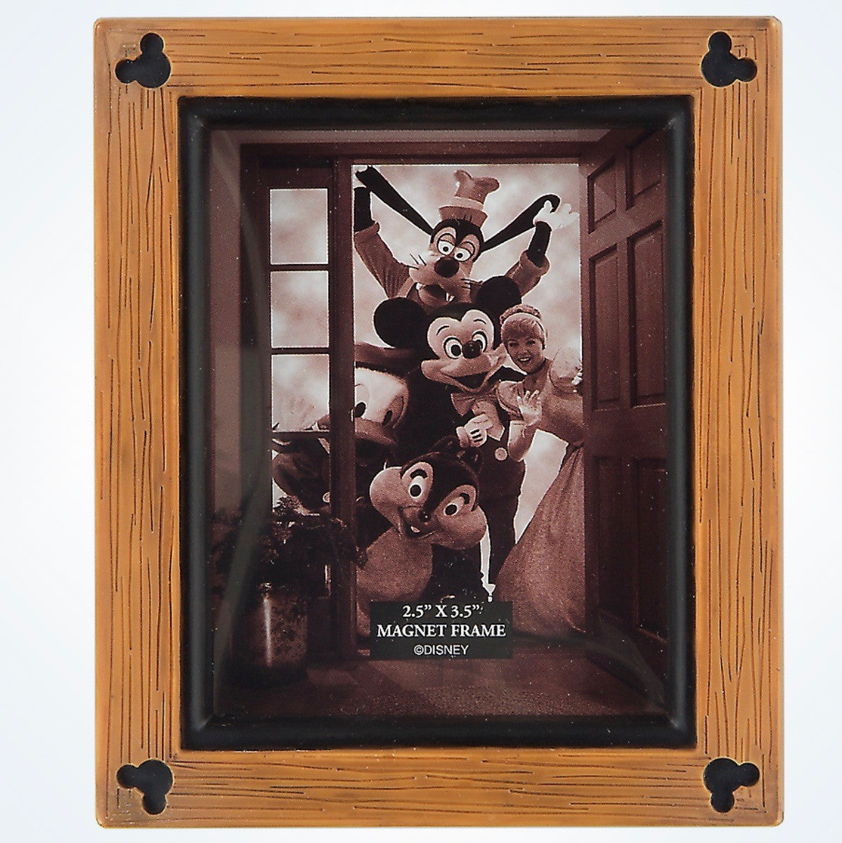 Disney Parks Mickey Mouse Icons Wood 25x35 Photo Picture Frame