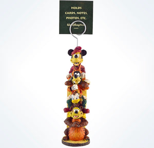Disney Parks Mickey & Friends Totem Wilderness Lodge Clip Picture Frame New