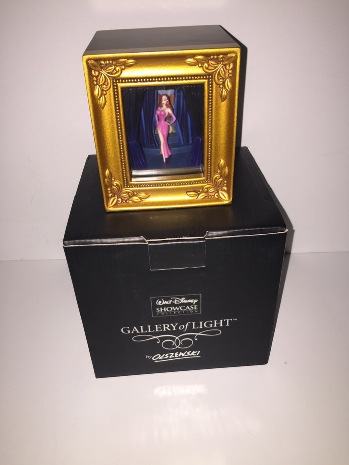 Disney Parks Gallery Of Light Olszewski Jessica Rabbit New With Box and COA