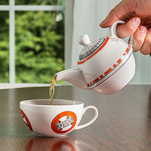 Star Wars BB-8 Teapot And Teacup Set New