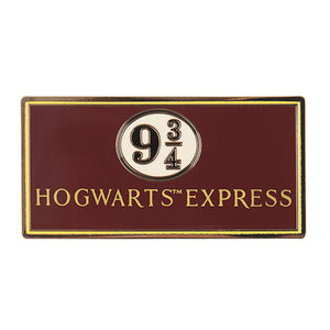 Universal Studios Harry Potter Hogwarts Express Train 9 3/4 Pin New with Card
