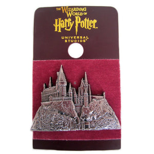 Universal Studios Harry Potter Hogwarts Castle Relief Metal Pin New with Card