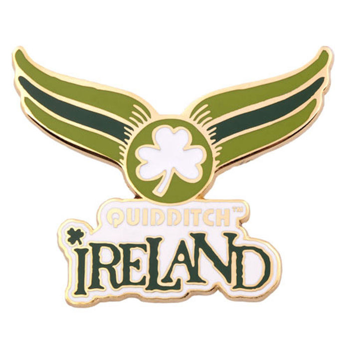 Universal Studios Harry Potter Quidditch Ireland World Cup Pin New With Card