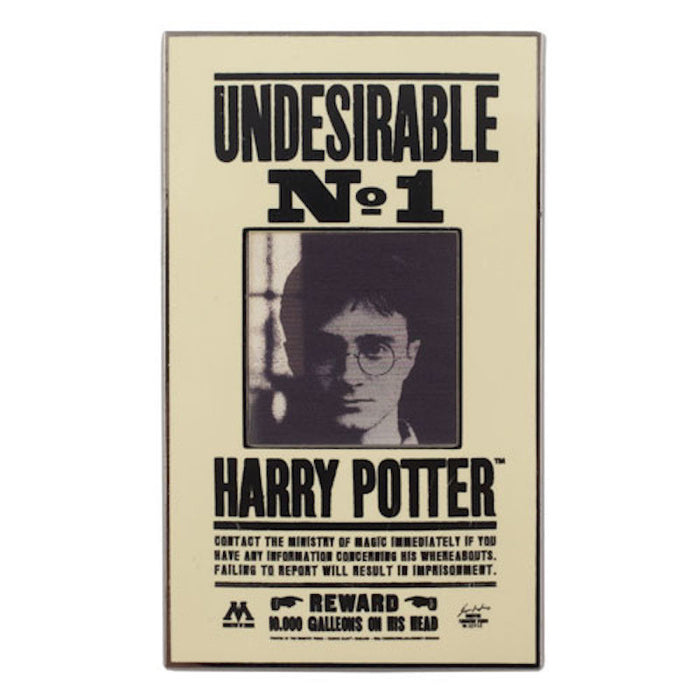 Universal Studios Harry Potter Lenticular Undesirable N 1 Pin New With Card