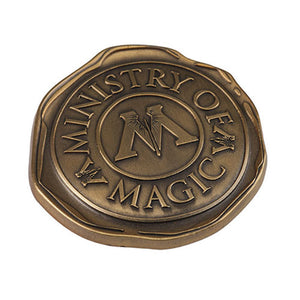 Universal Studios Harry Potter Ministry of Magic Seal Pin New with Card
