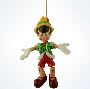 Disney Parks Pinocchio Marionette Holiday Christmas Ornament New with Tags