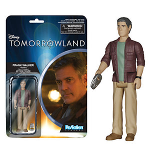 Disney Funko Frank Walker ReAction Figure Tomorrowland 3 3/4'' New with Box