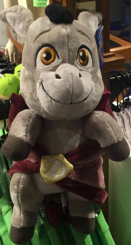 Universal Studios Shrek 4-D Baby Donkey in Blanket Plush New With Tags