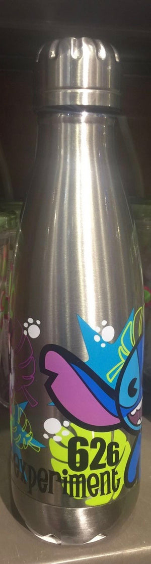 Disney Parks Stitch 626 Experiment Stainless Steel Thermo Bottle New