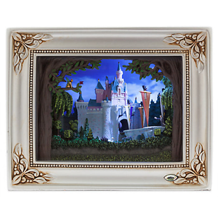 Disney Disneyland 60th Sleeping Beauty Castle Gallery of Light Olszewski New Box