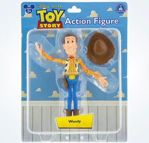 Disney Parks Pixar Toy Story Woody Action Figure New with Box