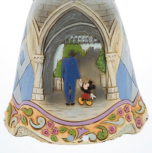Disney Jim Shore Traditions Disneyland 60th Sleeping Beauty Aurora Walt & Mickey