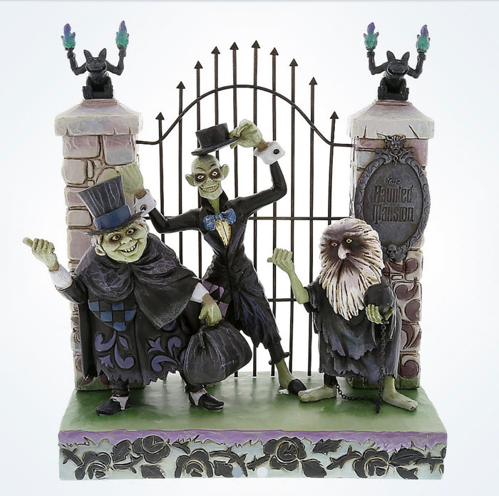 Disney Jim Shore Traditions Figure Haunted Mansion Hitchhiking Ghosts New Box