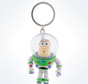 Disney Parks Toy Story Buzz Lightyear Light-Up Keychain New with Tgas