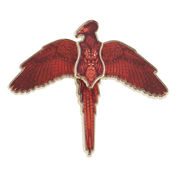 Universal Studios Harry Potter Moving Wings Fawkes The Phoenix Pin New with Card