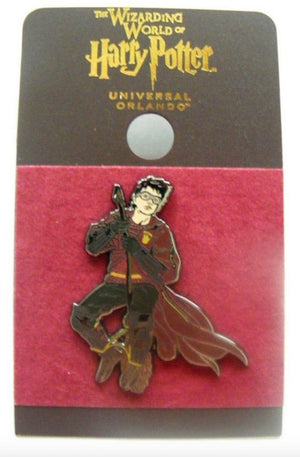 Universal Studios Enamel Harry Potter Quidditch Pin New with Card