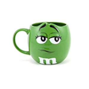 M&M's World Green Character 3D Mug New