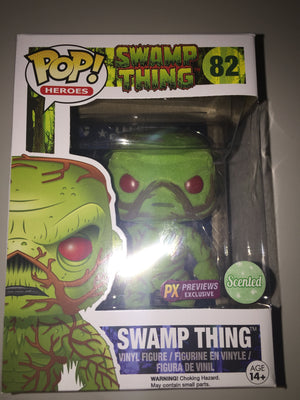 2016 Pop Swamp Thing 82 Previews Exclusive Scented Vinyl Funko New with Box - I Love Characters