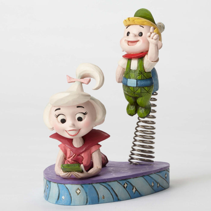 Judy and Elroy Jetson Jim Shore Stone Resine Figurine New with Box