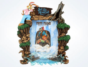 Disney Parks Splash Mountain Resin Picture Photo Picture Frame New