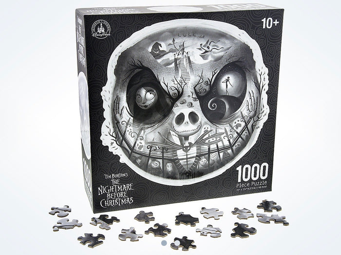 Disney Parks Jack Skellington 1000 Piece Puzzle New with Box