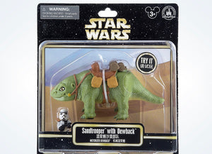Disney Parks Star Wars Sandtrooper & Dewback Motorized Figure New with Box
