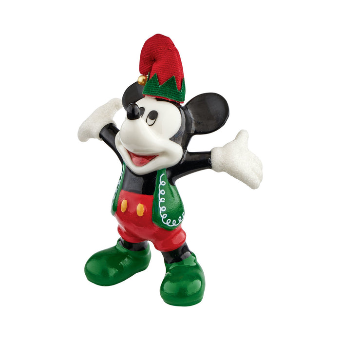 Disney Santa's Helper Mickey By Design Department 56 Figurine New with Box