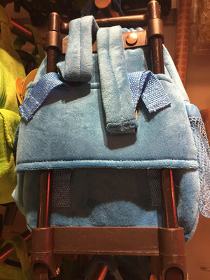 M&M's World Blue Character Plush Backpack Trolley For Child New with Tags
