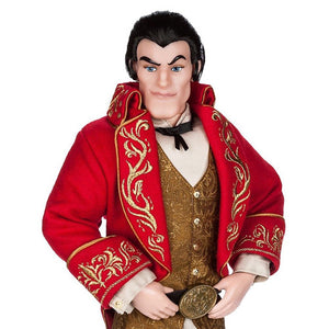 Disney Store Gaston From Beauty and the Beast Limited Doll of 2500 New with Box