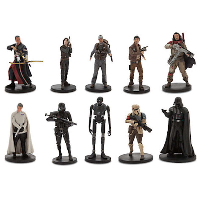 Rogue One Star Wars Story Deluxe Figurine figure doll Cake Topper Playset LOOSE