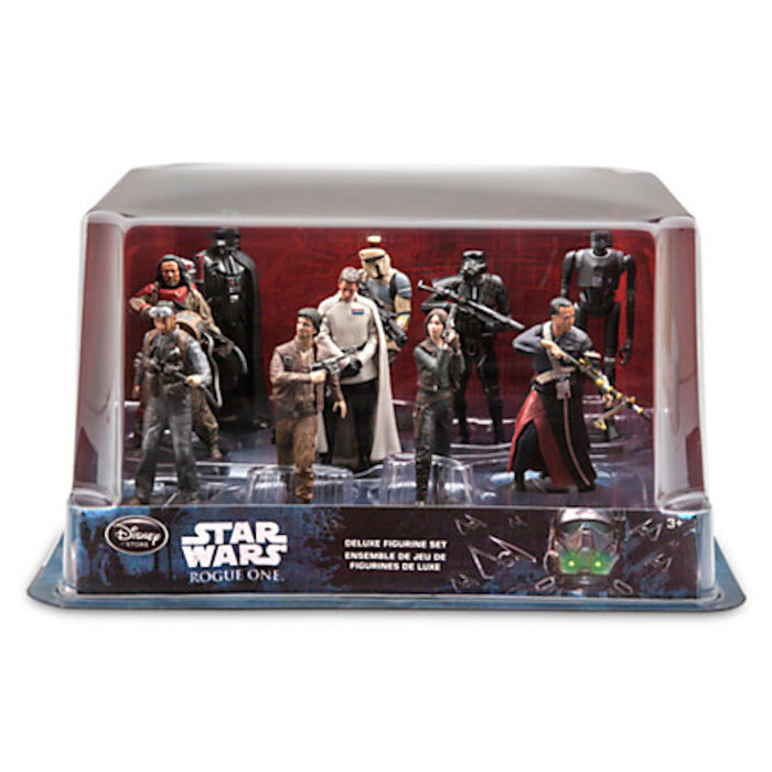Disney Store Rogue One A Star Wars Story Deluxe Figurine Set New with Box