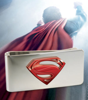 Superman, Man of Steel - Money Clip New