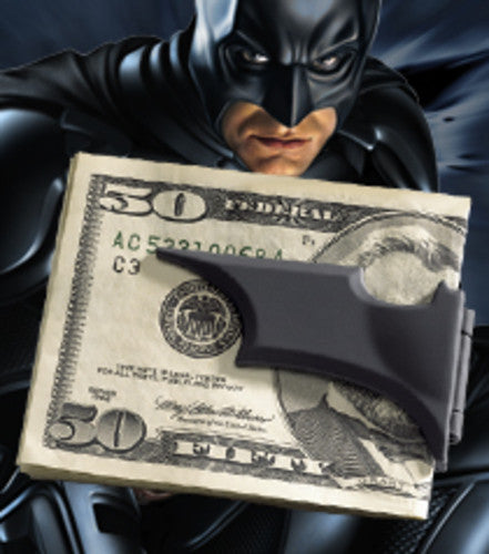 The Dark Knight Rises - Batarang Money Clip Black New