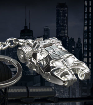 The Dark Knight Rises - Batmobile Keychain Silver Limited Edition of 1000
