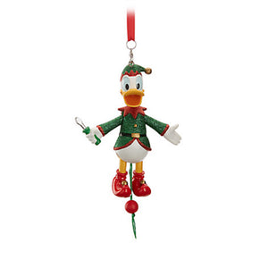 Disney Parks Donald Duck Articulated Figural Holiday Ornament New with Tags